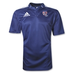 adidas USA Sevens Three Stripe Rugby Jersey (Navy/White)