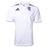 adidas USA Sevens Three Stripe Rugby Jersey (White/Black)