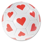 Hearts Soccer Ball