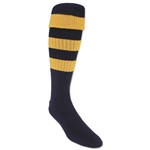365 Hoop Rugby Sock (Navy/Yellow)