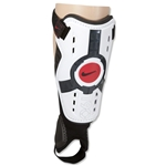 Nike T90 Protegga Shin Guards (White/Red)