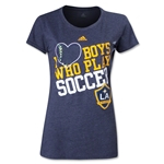 LA Galaxy I Heart Boys Who Play Soccer Women's T-Shirt