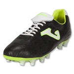 Joma Total Fit FG Soccer Shoes (Black/White/Citron)