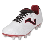 Joma Total Fit FG Soccer Shoes (White/Black/Red)