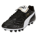 PUMA King Top K di FG Cleats (Black/White/Team Gold)
