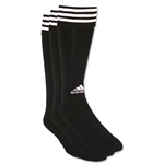 adidas Copa Zone Cushion Irreg 3 Pack (Blk/Wht)