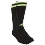 adidas Copa Zone Cushion Irreg 3 Pack (Blk/Yellow)