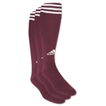adidas Copa Zone Cushion Irreg 3 Pack (Maroon/Wht)