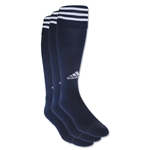 adidas Copa Zone Cushion Irreg 3 Pack (Navy/White)