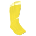 adidas Copa Zone Cushion Irreg 3 Pack (Yl/Wh)