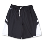 Warrior Evolution Game Lacrosse Shorts (Blk/Wht)