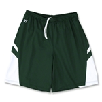 Warrior Evolution Game Lacrosse Shorts (Dk Gr/Wht)