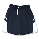 Warrior Evolution Game Lacrosse Shorts (Navy/White)