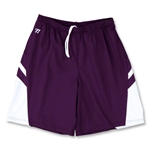 Warrior Evolution Game Lacrosse Shorts (Pur/Wht)