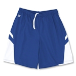 Warrior Evolution Game Lacrosse Shorts (Roy/Wht)