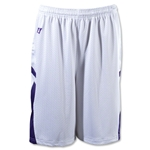 Warrior Evolution Game Lacrosse Shorts (Wh/Pu)