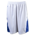 Warrior Evolution Game Lacrosse Shorts (Wh/Ro)