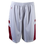 Warrior Evolution Game Lacrosse Shorts (Wh/Sc)