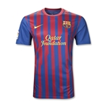 Barcelona 11/12 Home Youth Soccer Jersey