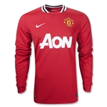 Manchester United 11/12 Jersey de Futbol Local ML