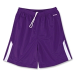 Brine Fury Game Lacrosse Shorts (Pur/Wht)