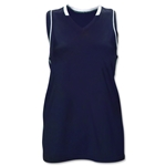 Brine Icon Racer Back Game Women's Lacrosse Jersey (Navy/White)