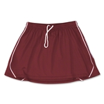 Brine Icon Game Women's Lacrosse Kilt (Maroon/Wht)