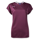 Brine Anthem Cap Sleeve Women's Game Jersey (Maroon/Wht)