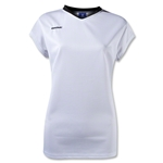 Brine Anthem Cap Sleeve Women's Game Jersey (Wh/Bk)
