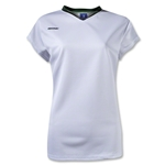 Brine Anthem Cap Sleeve Women's Game Jersey (Wh/Dgr)