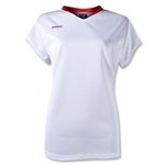 Brine Anthem Cap Sleeve Women's Game Jersey (Wh/Sc)