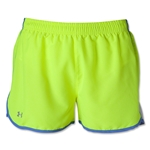 Under Armour Women's TG Escape 3 Short (Neon Yellow)
