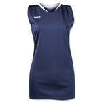 Brine Anthem Racer Back Women's Game Jersey (Navy/White)