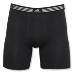 adidas Athletic Stretch 2PK Boxer Brief (Black)