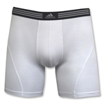 adidas Athletic Stretch 2PK Boxer Brief (White)