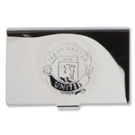 Manchester United Chrome Business Card Holder