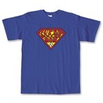 Super Soccer Mom T-Shirt (Royal)