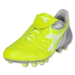 Diadora Maracana MD PU Axeler Women's Soccer Shoes (Yellow Fluo/Silver/White)