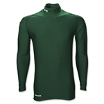 Under Armour ColdGear Game Day Compression Mock (Dark Green)