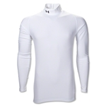 UA ColdGear Game Day Compression Mock (White)
