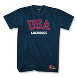 USA Lacrosse T-Shirt (Navy)