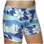 Tuga Sport Shortz Plumeria (Royal)