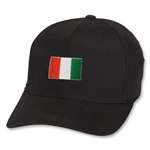 Ivory Coast Flex Fit Cap (Black)