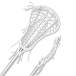 Brine Quantum Superlight Women's Complete Lacrosse Stick (White)