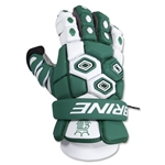 Brine Triumph Goalie Lacrosse Gloves 13 (Dark Green)