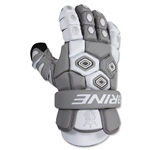 Brine Triumph Goalie Lacrosse Gloves 13 (White)