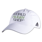 adidas World Rugby Shop Washed Cap (White)