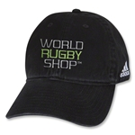 adidas World Rugby Shop Washed Cap (Black)