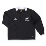All Blacks 2011 Infant Home LS Rugby Jersey