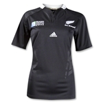 All Blacks RWC 2011 Women's Home SS Rugby Jersey